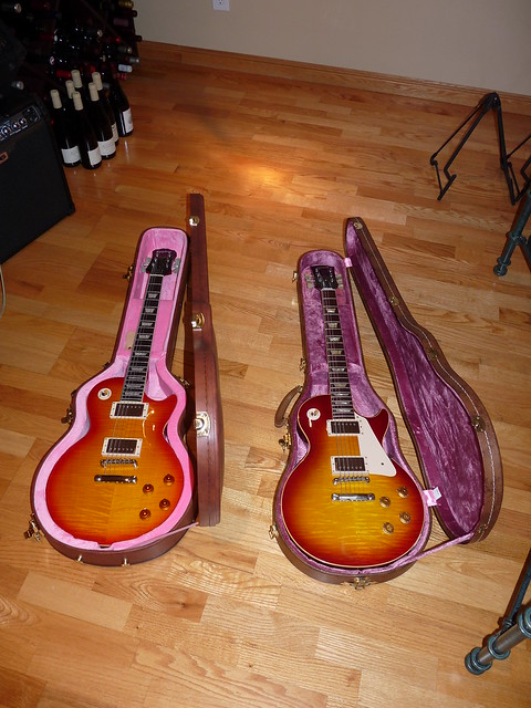 Photo:Les Paul Standard 1959 Models from 2009: Epiphone and Gibson By Ethan Prater