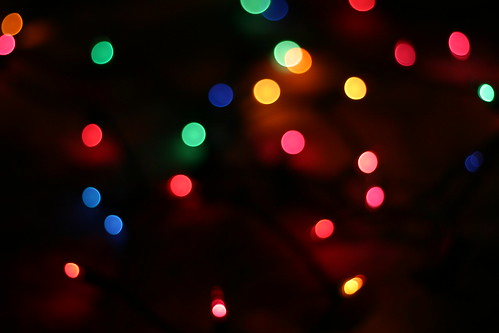 Twinkle, twinkle, christmas lights!
