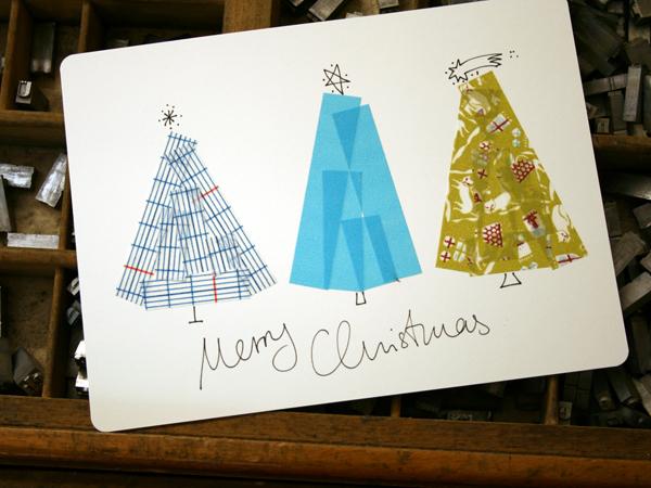 Decorar amb washi tape decorate with washi tape small - Decorar postales de navidad ...