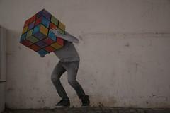 Confused man, Nazare, Portugal // Смущенный человек, Португалия