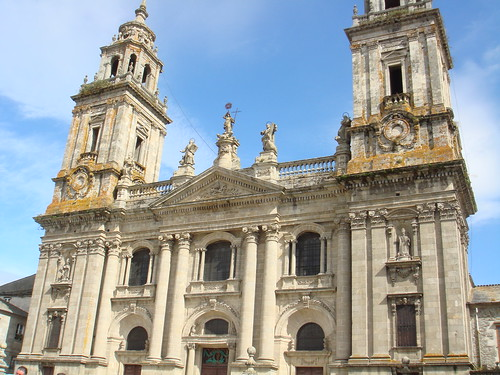 The beautiful Cathedral of Lugo