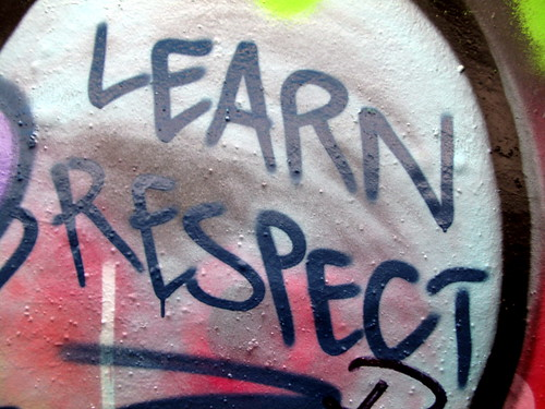 Learn respect