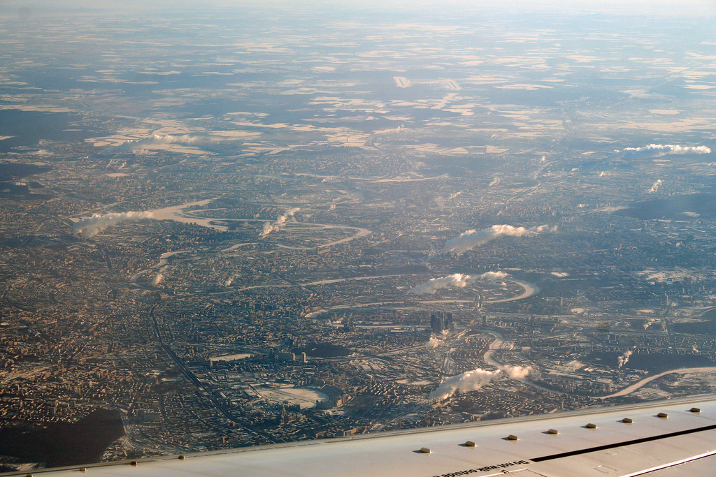 Moscow From the Air by Andrey Belenko, on Flickr
