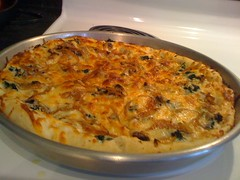 frittata, pizza cheese, baked goods, zwiebelkuchen, food, dish, european food, cuisine, tortilla de patatas,
