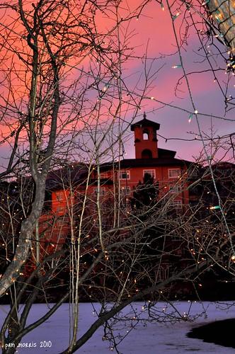 morning usa snow cold america sunrise us colorado coloradosprings co broadmoor d5000 denverpam pammorrisnikon