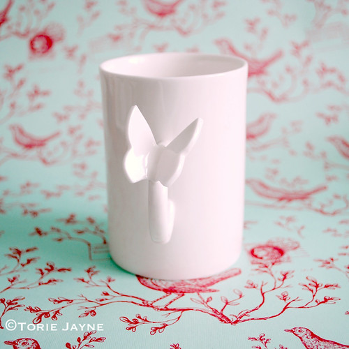Polly George Butterfly mug