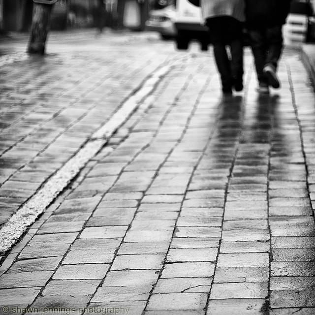 Cached Black and white photography rain