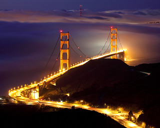Golden Gate Bridge from CRT