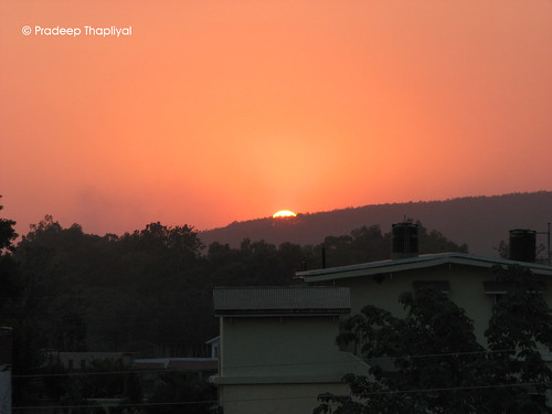 sunset india mountain outdoor hill hillstation dehradun uttranchal uttrakhand sunsetdehradun