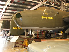 USAAF B25D Mitchell Bomber Hawg-mouth November 2007
