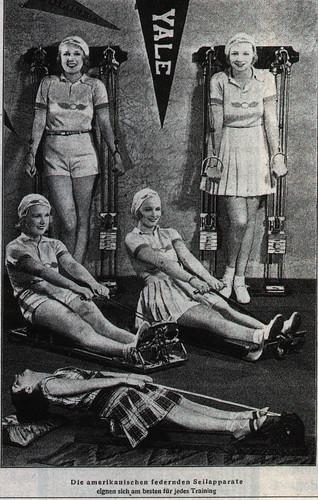 Vintage fitness tools
