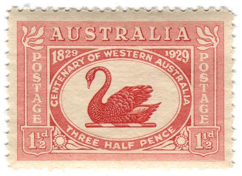 Australia postage stamp: Centenary of Western Australia by karen horton