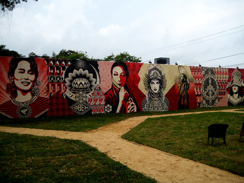 """Shepard Fairey"" ""Wynwood Walls"" ""Deitch Projects"" ""street art"" graffit ""art basel"""