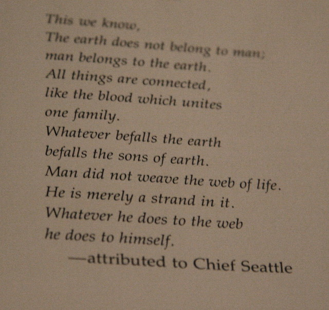 chief seattle essay