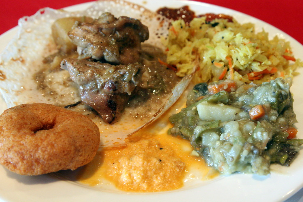 Selections From The Weekend Buffet At Five Star Indian Cui