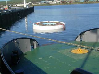 Tidal Energy Generating Rotor.