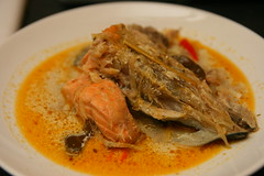 meal, curry, fish, seafood, asam pedas, bouillabaisse, red curry, food, dish, soup, cuisine, gulai,