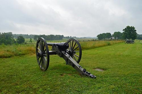 Seminary Ridge ... A. P. Hills Corps, Gettysburg, Pennsylvania USA