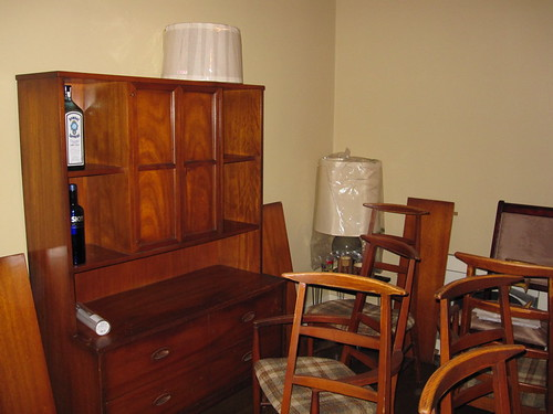 Dining room - china cabinet