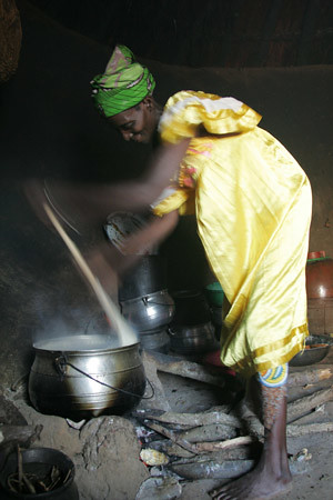 Cooking in Niger