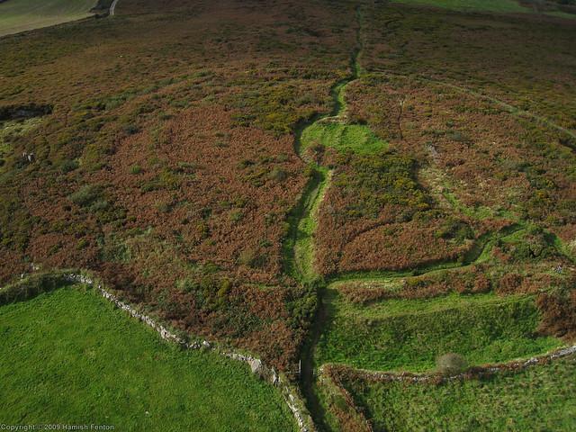 Caer Brân (Iron Age Hillfort),near Sancreed, Cornwall