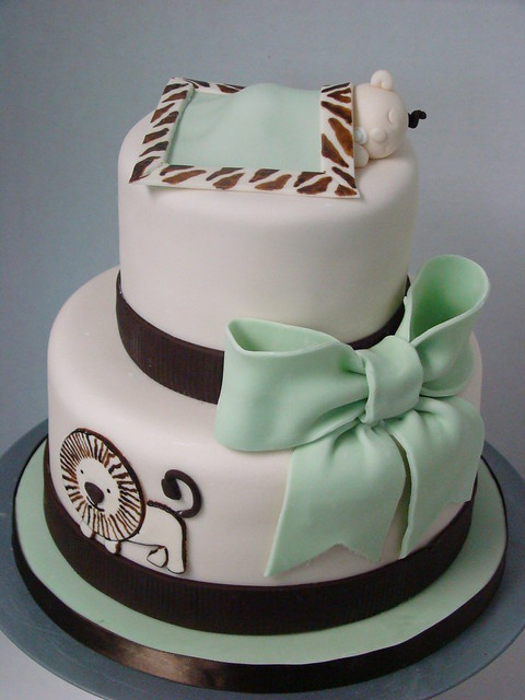safari baby shower cake front view of safari themed baby s