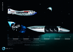 Scale comparison of SpaceShipOne to SpaceShipTwo
