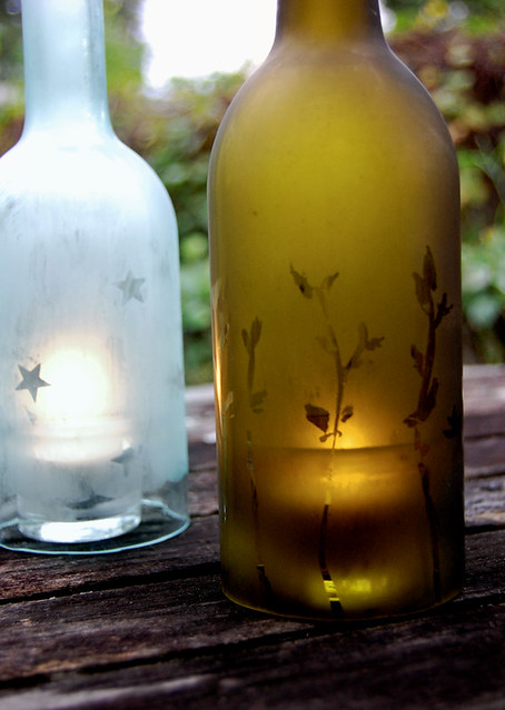 Recycled Wine Bottles | Flickr - Photo Sharing!