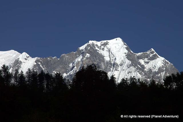 Annapurna I 8,091 metres (26,545 ft) - Annapurna Circuit Trek - Nepal