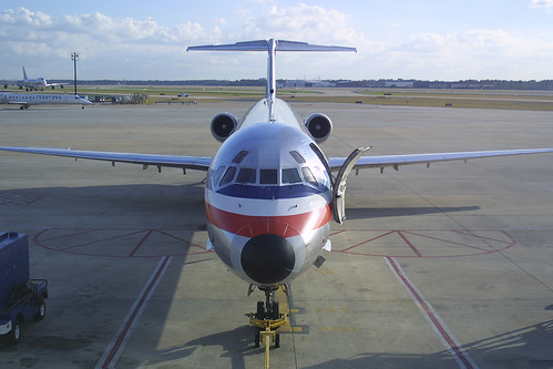 American Airlines McDonnell-Douglas MD-82 N468AA