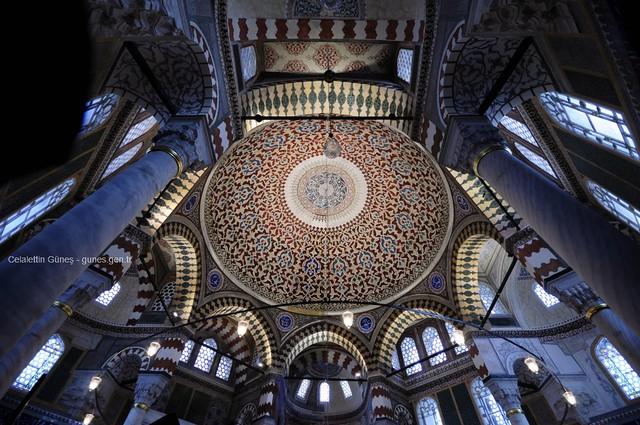 Sultan II.Selim Türbesi- Kubbe - Tomb of Sultan II.Selim-Dome