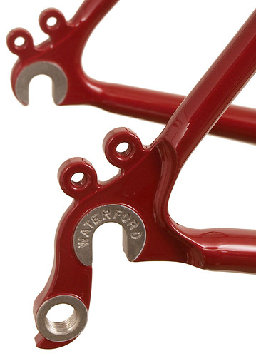 Gunnar Grand Tour Stainless Rear Dropouts | by Gunnar Cycles
