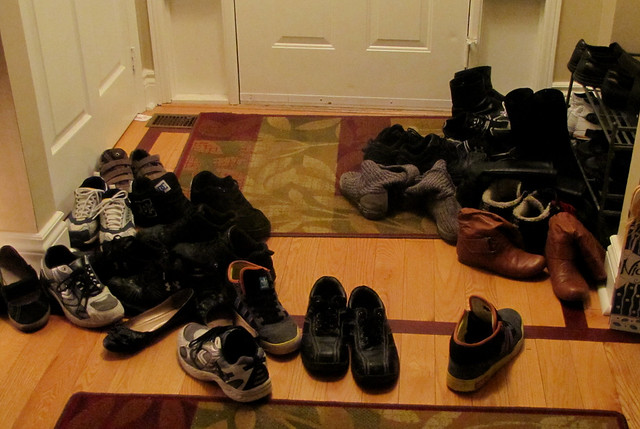 Shoes in the Hall