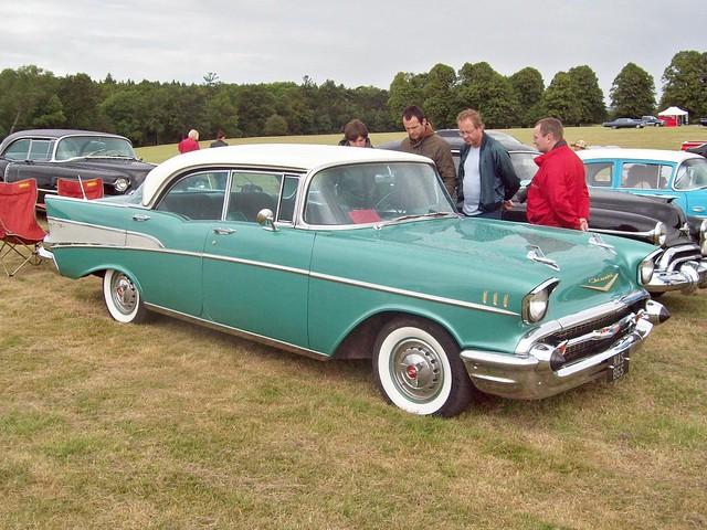 100 chevrolet bel air 4 door hardtop 1957 flickr for 1957 belair 4 door hardtop