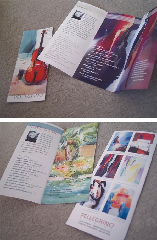 Pellegrino Studios Brochures
