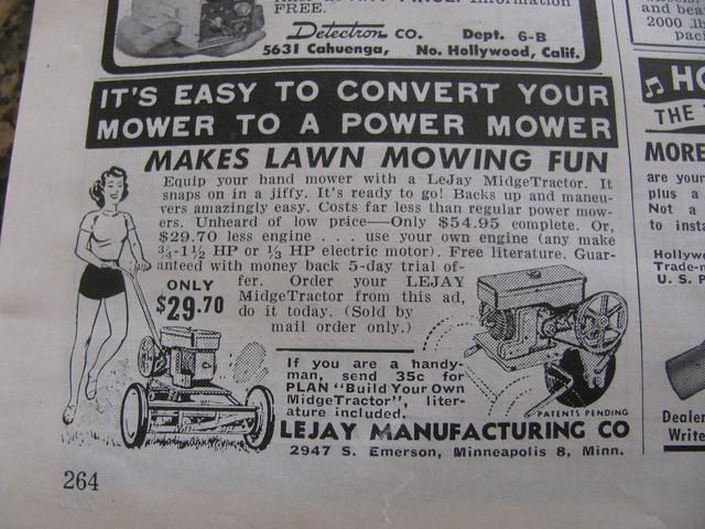 Lawn Mower clip art - vector clip art online, royalty free