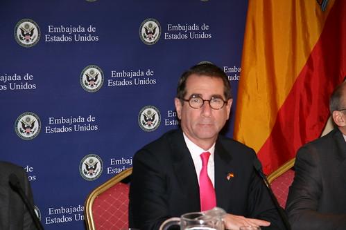El embajador Alan Solomont