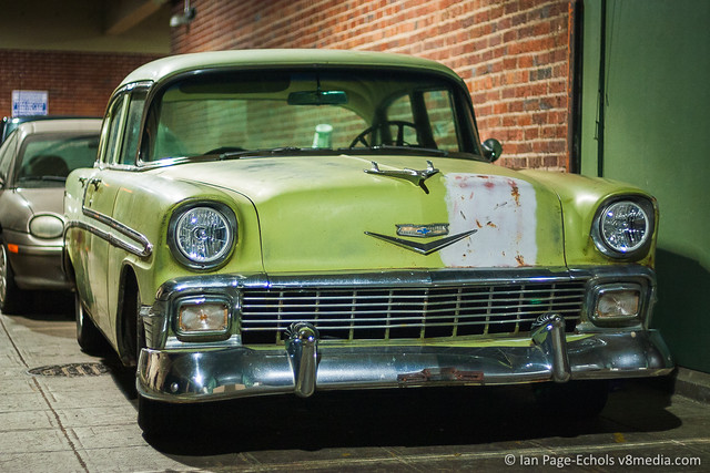 1956 Chevy Bel Air front angled