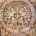Sassanian silk, 7thc Vatican Museum