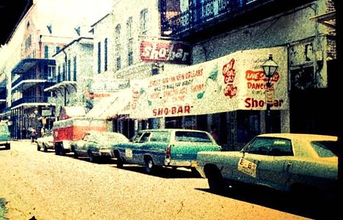 sho-bar, bourbon st, 1973