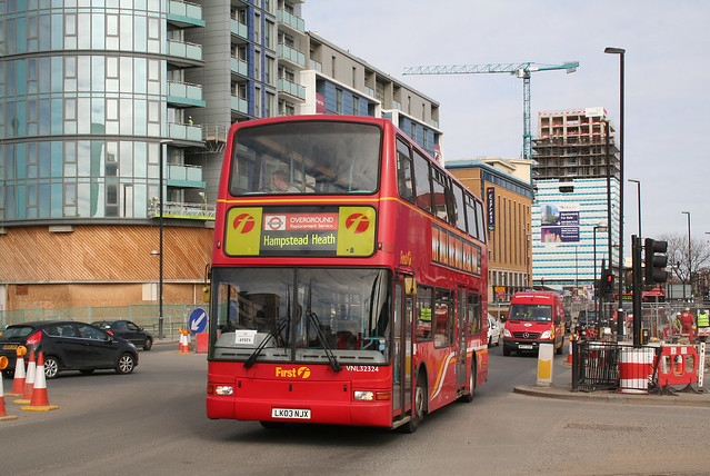 London Overground rail replacement bus service at Stratford | Flickr ...