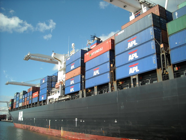 Container Ship APL Sweden