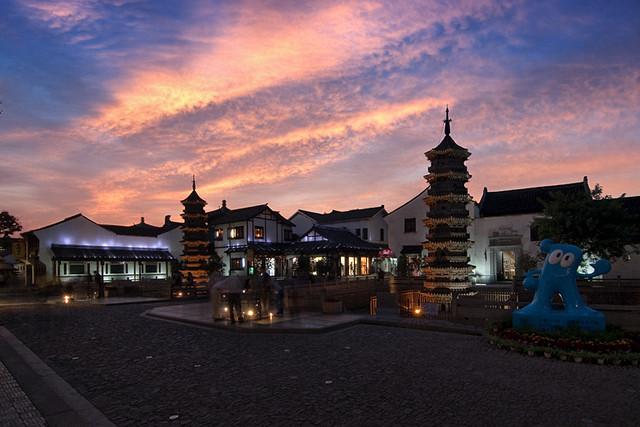 上海南翔双塔是上海古塔中的老寿星