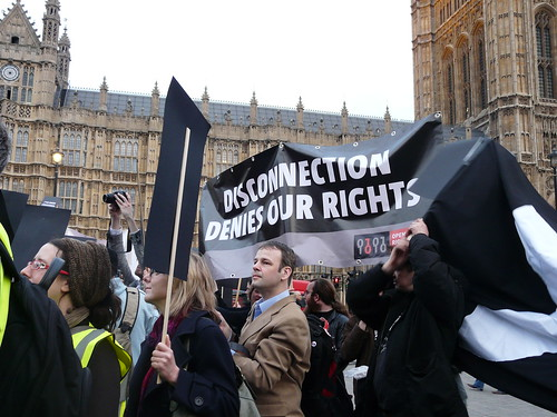 Protestas en Inglaterra