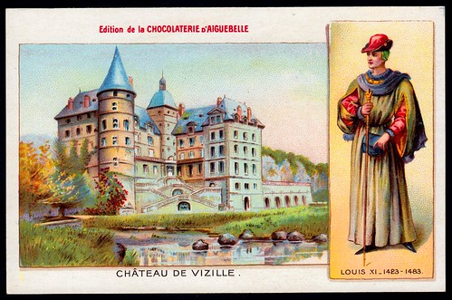 French Tradecard - Chateau De Vizille | by cigcardpix