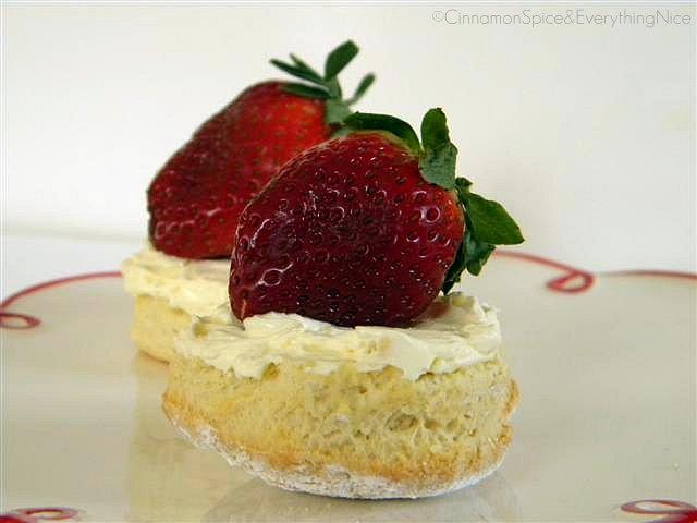 Classic Scones with Devonshire Cream & Strawberries | Flickr - Photo ...