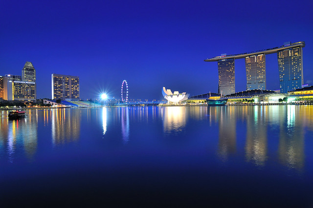 Night of Marina Bay