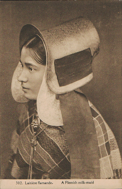 A Flemish milk-maid
