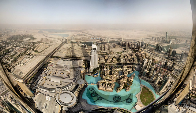 Dubai - vue depuis la Burj Khalifa - 18-06-2011 - 17h39