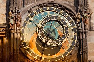 Reloj astronómico, en Praga.